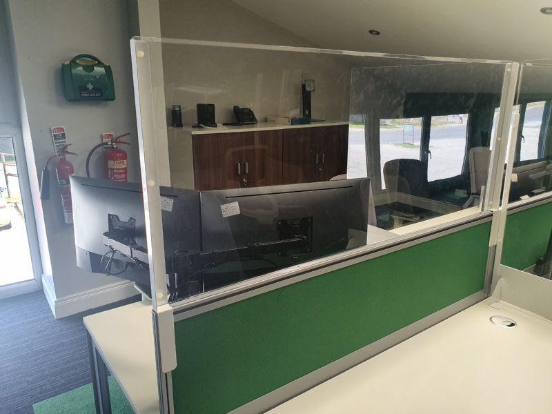 Seamless COVID shields/screen installations with a little help from Flexitech