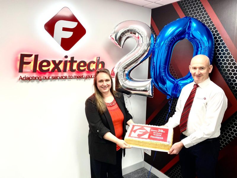 Flexitech celebrate our 20th Anniversary