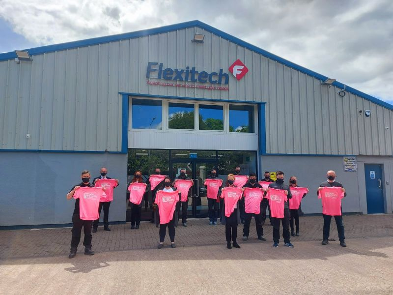 Flexitech Staff are participating in the 100 Km in 30 Days Challenge